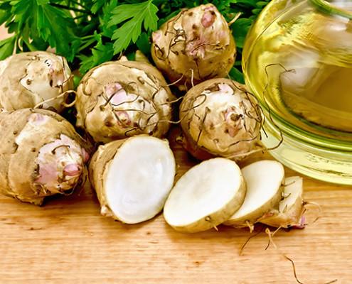 Topinambur działanie na zdrowie i urodę http://zdrowszeznatury.pl